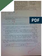 PH1020 2014 Quiz I