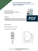 Disjoncteur Différentiel 2P 220V 10A 300Ma