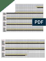 Progress Sheet Graph