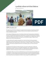 Remesadoras BOLIVIA; Periodico la Razon