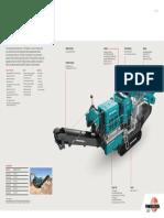 Powerscreen 1000 Maxtrak Brochure
