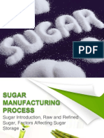 Sugar Manufacturing Process - Brief Introduction Slides