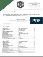 Javna Licitacija Za Prodaju Dva Službena Vozila u Vlasništvu Općinskog Organa Uprave Općine Velika Kladuša