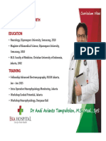 2. Dr. Andi Avianto Tampubolon, M.si. Med., SpS - Peripheral Nerve Disorders