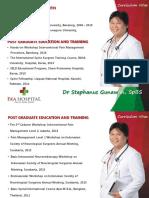 5. Dr. Stephanus Gunawan Sp. BS - IPM or Surgery