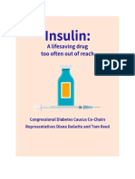 Congressional Diabetes Caucus Insulin Inquiry Report