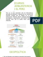 Recursos Hidrocarburiferos en El Perú