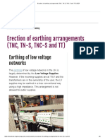 Erection of Earthing Arrangements (TNC, TN-S, TNC-S and TT) _ EEP