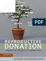Reproductive Donation Practice Policy and Bioethics