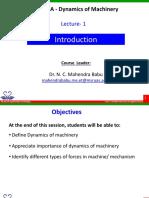 DOM Lecture 1
