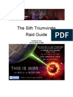 Sith Raid - Teams and Strats