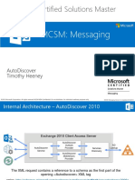 MCSM Exchange 2013 - CAS - 2 Autodiscover
