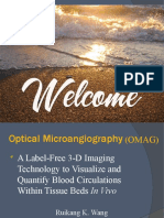 Optical Micro Angiography (OMAG)