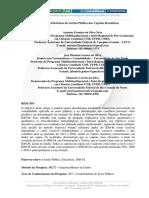 Análise da Eficiência da Gestão Pública das Capitais Brasileiras