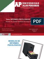 Ayuda 8 Modelos de Informes Psicológicos