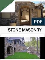 4. Stone Masonry