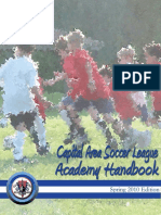 Coaches Manual - Captial Area Soccer