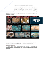 Piedras Semipreciosas Peru