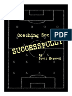Coaches Manual - Coaching Soccer Succesfully
