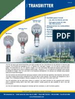 RKI S2 Series Gas Sensor Transmitter May 2011 Opt