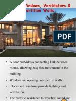 5. Doors & Windows