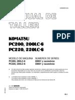 Manual de Taller Komatsu PC200.pdf