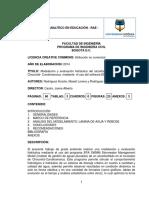 RAE Modelación Evaluación Hidráulica Alcantarillado Chocontá Con Software EPA SWMM