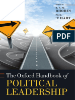 (Oxford Handbooks) R. a. W. Rhodes, Paul 't Hart-The Oxford Handbook of Political Leadership-Oxford University Press (2014)