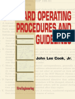 Standard Operating Procedures and Guidelines