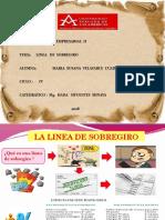 LINEA DE SOBREGIRO