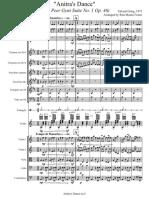 Partitura Completa - Anitra's Dance - Suite No 1 Op 46_sem_flauta
