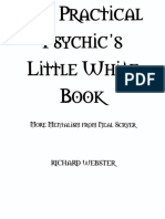 'the Practical Psychic's Little White Book' by Richard Webster