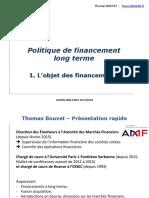 BBA Chapitre 1 L'Objet Des Financements Blog