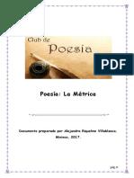 Poesia, La Metrica