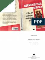 CROATTO, J. Severino (1994), Hermenéutica Bíblica. Para Una Teoría de La Lectura Como Producción de Sentido. 2da. Ed. Buenos Aires, Lumen
