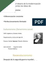 DARWINISMO SOCIAL, NEOEVOLUCIONISMO Y NEOLIBERALISMO
