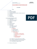 Estructura Proyecto de Investig. 2016
