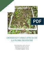 Densidad y Frecuencia de La Flora Silvestre 1
