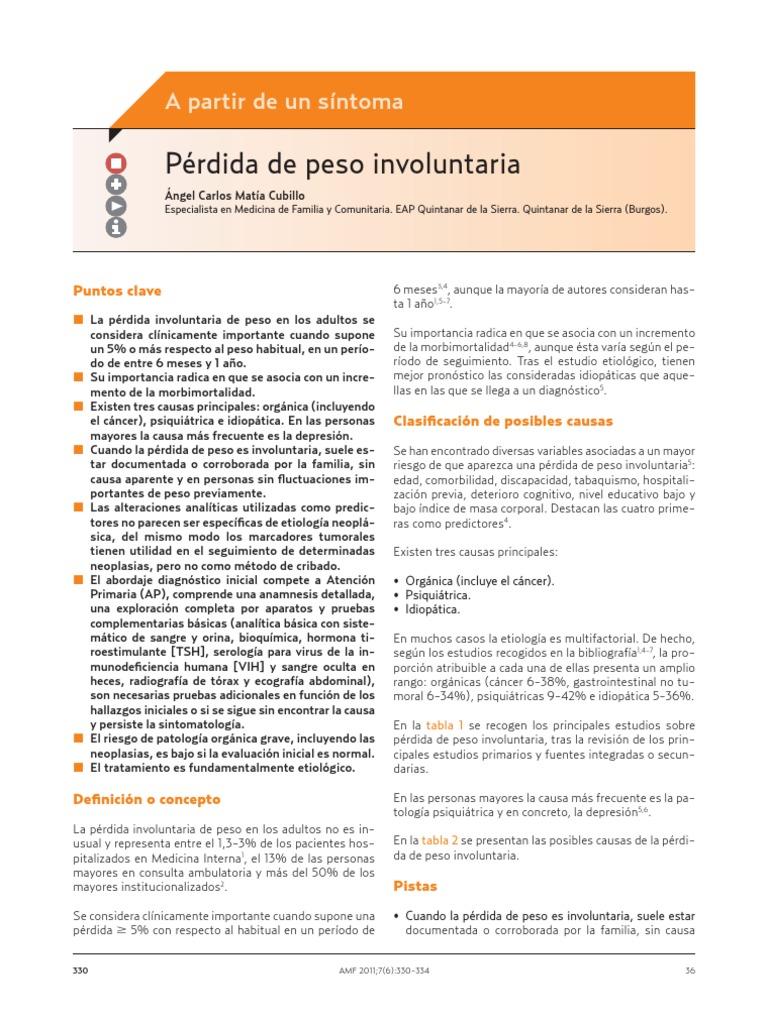 causas perdida de balanza involuntaria pdf