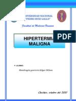 HIPERTERMIA MALIGNA