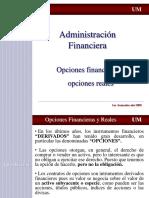 Opciones Financieras y Reales