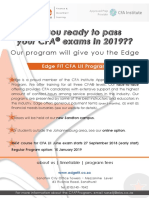 CFA LII Brochure June 2019