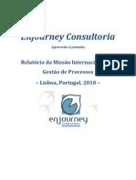 Relatório Missão Internacional Lisboa
