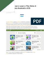 Galeria Sims 4 Android