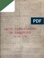 Segni Tabellionali in Sardegna