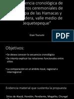 La Secuencia Cronologica de Pampa Las Hamacas