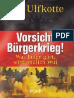 Udo Ulfkotte Burgerkrieg