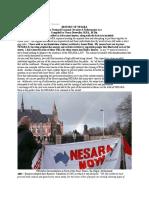 History of Nesara