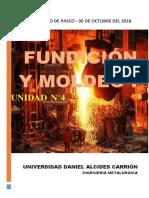 Fundicion y Moldeo 1 - Unidad 4