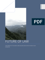 Final Report of the Future of Law Committtee